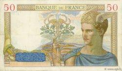 50 Francs CÉRÈS FRANCE  1934 F.17.01 pr.TTB