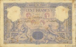 100 Francs ROSE ET BLEU FRANCE  1889 F.21.02 TB