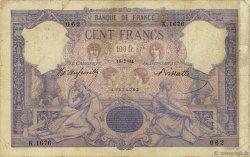 100 Francs BLEU ET ROSE FRANCE  1894 F.21.07 B+