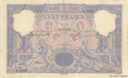 100 Francs ROSE ET BLEU FRANCE  1901 F.21.15 TB+