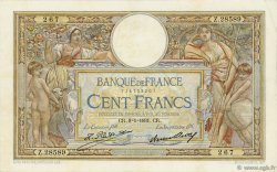 100 Francs LUC OLIVIER MERSON grands cartouches FRANCE  1931 F.24.10 pr.SUP