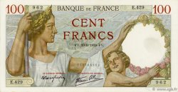 100 Francs SULLY FRANCE  1939 F.26.04 SUP