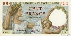 100 Francs SULLY FRANCE  1940 F.26.31 NEUF