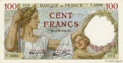 100 Francs SULLY FRANCE  1940 F.26.42 NEUF