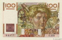 100 Francs JEUNE PAYSAN FRANCE  1948 F.28.19 NEUF