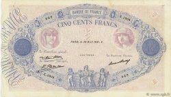 500 Francs BLEU ET ROSE FRANCE  1931 F.30.34 TTB