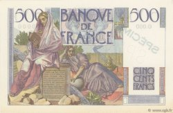 500 Francs CHATEAUBRIAND FRANCE  1945 F.34.00 SPL+