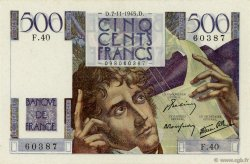 500 Francs CHATEAUBRIAND FRANCE  1945 F.34.03 pr.SPL