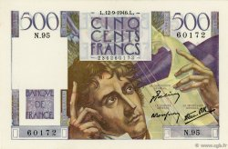500 Francs CHATEAUBRIAND FRANCE  1946 F.34.06 SPL