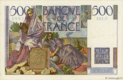 500 Francs CHATEAUBRIAND FRANCE  1953 F.34.13 SUP