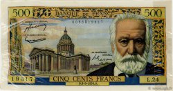 500 Francs VICTOR HUGO FRANCE  1954 F.35.02 SUP à SPL