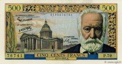 500 Francs VICTOR HUGO FRANCE  1957 F.35.06 SUP