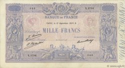 1000 Francs BLEU ET ROSE FRANCE  1926 F.36.43 TTB