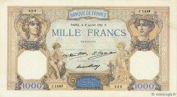 1000 Francs CÉRÈS ET MERCURE FRANCE  1931 F.37.06 SUP