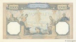 1000 Francs CÉRÈS ET MERCURE type modifié FRANCE  1938 F.38.22 SUP à SPL