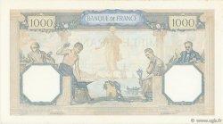 1000 Francs CÉRÈS ET MERCURE type modifié FRANCE  1938 F.38.28 pr.SUP
