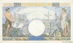 1000 Francs COMMERCE ET INDUSTRIE FRANCE  1940 F.39.03 pr.SUP