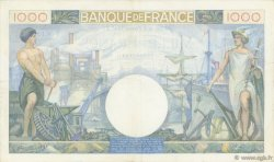 1000 Francs COMMERCE ET INDUSTRIE FRANCE  1941 F.39.04 TTB