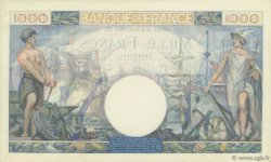 1000 Francs COMMERCE ET INDUSTRIE FRANCE  1944 F.39.05 SPL