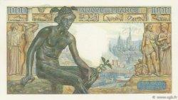 1000 Francs DÉESSE DÉMÉTER FRANCE  1942 F.40.02 pr.NEUF