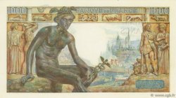 1000 Francs DÉESSE DÉMÉTER FRANCE  1943 F.40.22 SPL