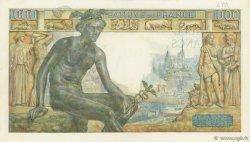 1000 Francs DÉESSE DÉMÉTER FRANCE  1943 F.40.40 SUP