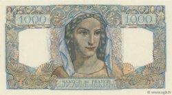 1000 Francs MINERVE ET HERCULE FRANCE  1945 F.41.08 SPL