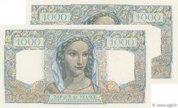 1000 Francs MINERVE ET HERCULE FRANCE  1946 F.41.11 SUP à SPL