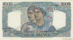 1000 Francs MINERVE ET HERCULE FRANCE  1949 F.41.28 SPL+