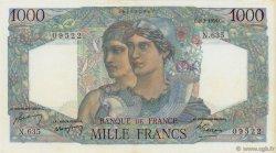 1000 Francs MINERVE ET HERCULE FRANCE  1950 F.41.31 SUP+