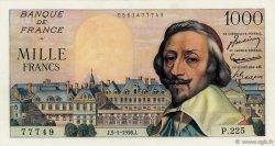 1000 Francs RICHELIEU FRANCE  1956 F.42.18 SUP+