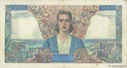 5000 Francs EMPIRE FRANÇAIS FRANCE  1942 F.47.04 TB