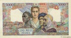 5000 Francs EMPIRE FRANCAIS FRANCE  1944 F.47.07 TTB