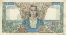 5000 Francs EMPIRE FRANCAIS FRANCE  1945 F.47.12 TTB+