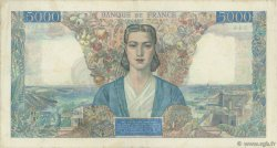 5000 Francs EMPIRE FRANÇAIS FRANCE  1945 F.47.41 TTB