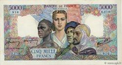 5000 Francs EMPIRE FRANÇAIS FRANCE  1946 F.47.56 pr.SPL