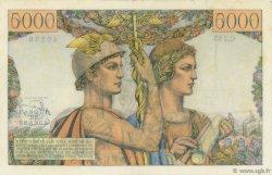 5000 Francs TERRE ET MER FRANCE  1953 F.48.10 TTB