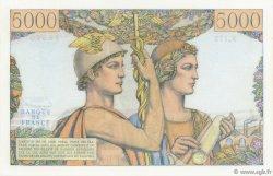 5000 Francs TERRE ET MER FRANCE  1957 F.48.16 SUP+