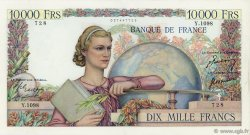 10000 Francs GÉNIE FRANÇAIS FRANCE  1950 F.50.46 SUP