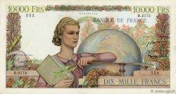 10000 Francs GÉNIE FRANÇAIS FRANCE  1951 F.50.55 TTB