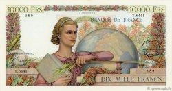 10000 Francs GÉNIE FRANÇAIS FRANCE  1954 F.50.69 SUP à SPL
