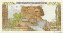 10000 Francs GÉNIE FRANÇAIS FRANCE  1956 F.50.81 SUP