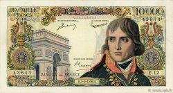 10000 Francs BONAPARTE FRANCE  1956 F.51.02 TTB