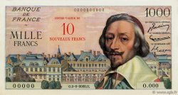10 NF sur 1000 Francs RICHELIEU FRANCE  1957 F.53.00 NEUF