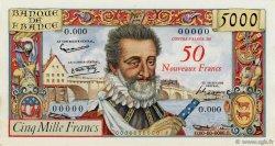 50 NF sur 5000 Francs HENRI IV FRANCE  1958 F.54.00 pr.NEUF