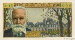 5 Nouveaux Francs VICTOR HUGO FRANCE  1959 F.56.02 SPL+