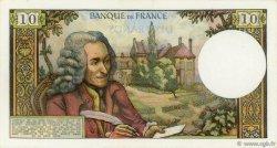 10 Francs VOLTAIRE FRANCE  1972 F.62.55 pr.NEUF