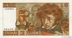 10 Francs BERLIOZ FRANCE  1973 F.63.02 TTB+