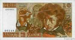 10 Francs BERLIOZ FRANCE  1975 F.63.08 TTB+