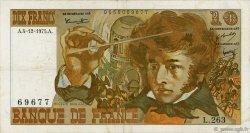 10 Francs BERLIOZ FRANCE  1975 F.63.15 TTB